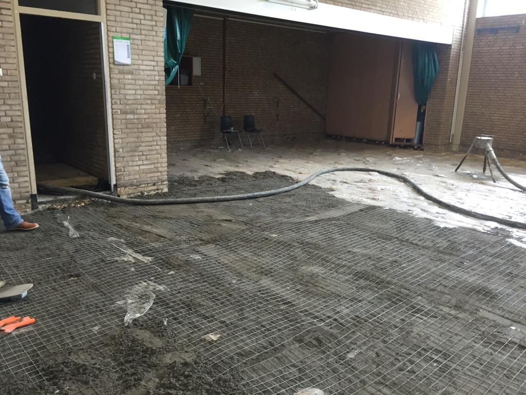 Voorburg Louis Couperusstraat (renovatie sporthal)