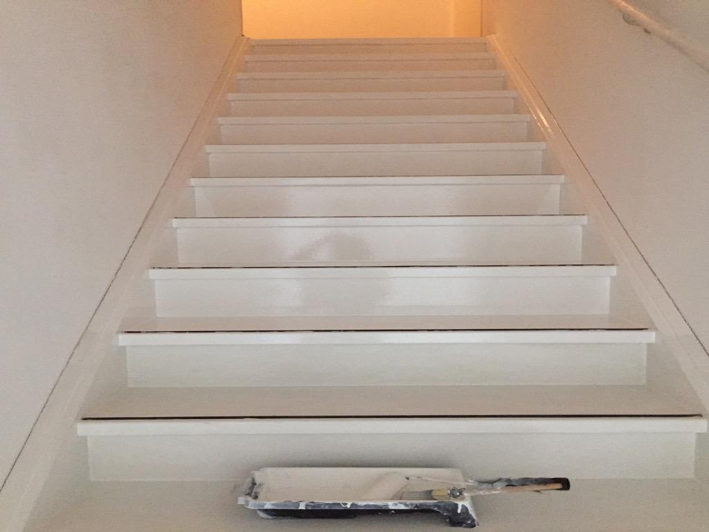 Schijndel Jan van Amstelstraat (schilderwerk trap)
